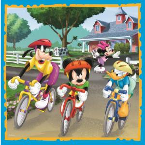 Puzzle Trefl 3 in 1, Mickey Mouse si prietenii, 106 piese
