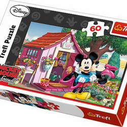 PUZZLE TREFL 60 MICKEY SI MINNIE IN GRADINA