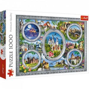 Puzzle Trefl - Castele Celebre ale Lumii, 1.000 piese