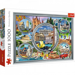 Puzzle Trefl, City break in Italia, 1000 piese
