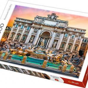 Puzzle Trefl, Fontanna Di Trevi Roma, 500 piese