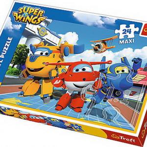 Puzzle Trefl Maxi, Avioane fericite, 24 piese