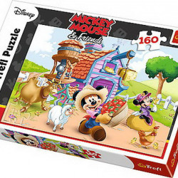 Puzzle Trefl Mickey the farmer, 160 piese
