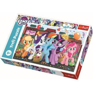 Puzzle Trefl, My little Pony, Ponei la cumparaturi, 160 piese
