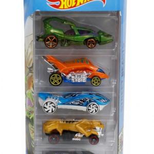 Set 5 masinute Hot Wheels, Street Beasts