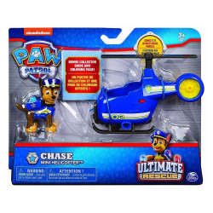 Set figurina cu vehicul Paw Patrol - Ultimate Rescue Chase