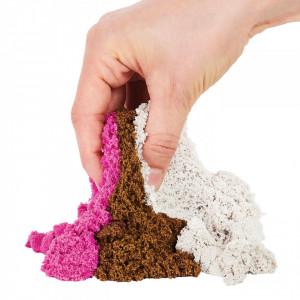 Set Kinetic Sand-Inghetata si Prajiturele Colorate si Parfumate