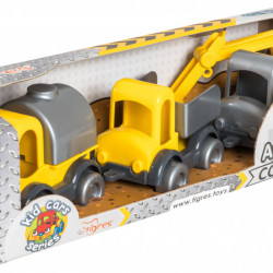 Set Mini vehicule de Constructie Tigres