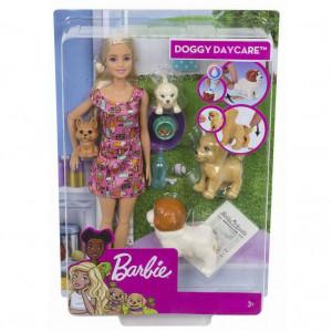 Barbie: Set de joacă Grădiniţa căţeilor