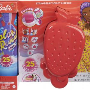 Barbie Color Reveal Foam - Papusa cu Tematica Capsuni