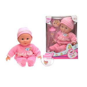 Bebelus Cu Biberon Toi-Toys,30cm