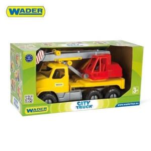 Camion Gigant Wader cu Macara,52 cm