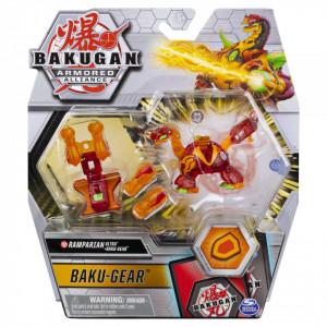 Figurina Bakugan S2 Bila Ultra Ramparian Cu Echipament Baku-Gear