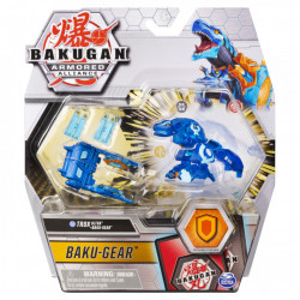 Figurina Bakugan S2 Bila Ultra Trox Cu Echipament Baku-Gear