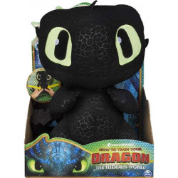 Figurina de Plus Dragons Cu Sunete - Toothless