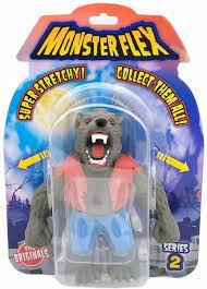 Figurina flexibila Monster Flex, S2, Wolfman