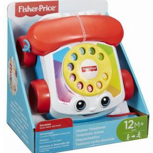 Fisher Price-Telefon clasic pentru dezvoltarea abilitatilor
