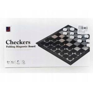 Joc de dame cu tabla magnetica pentru calatorii