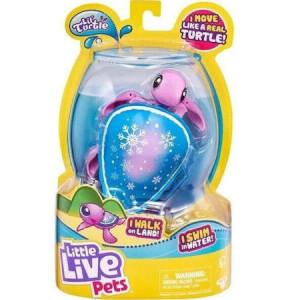 Jucarie interactiva Little Live Pets, Snowbreeze testoasa care inoata, 4 ani+