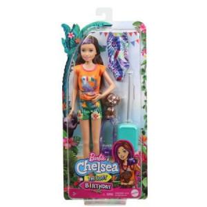 Papusa Barbie Chelsea Lost Birthday- Skipper si Animalut de companie