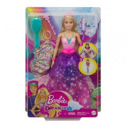 Papusa Barbie Dreamtopia-Printesa 2in1
