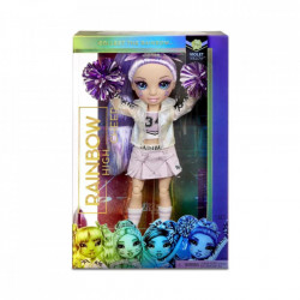 Papusa Majoreta Rainbow High, Violet Willow