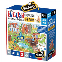 Puzzle Headu Teacher Tested - Ferma, 100 de cuvinte in limba engleza