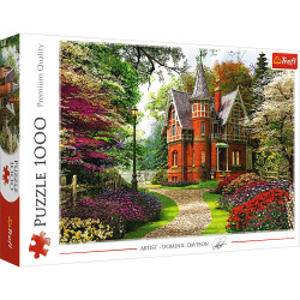 Puzzle Trefl 1000piese - Casa in Stil Victorian