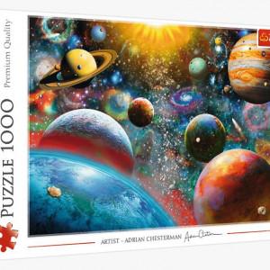 Puzzle Trefl 1000piese - Sistemul Solar