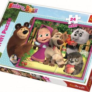 Puzzle Trefl 24 Maxi - Masha si Ursul