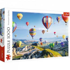 Puzzle Trefl, Cappadoccia baloane cu aer cald, 1000 piese
