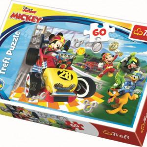 Puzzle Trefl, Disney Mickey, La raliu cu prietenii, 60 piese