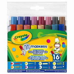 Set 16 markere Crayola cu varfuri speciale,lavabile