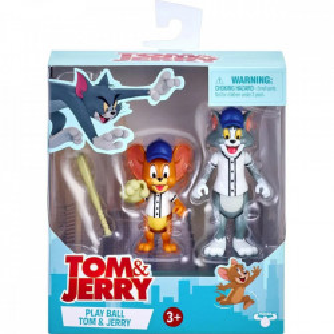 Set 2 figurine Tom and Jerry,Play Ball