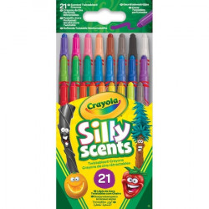Set 21 Creione Colorate Crayola cu varf retractabil,Parfumate