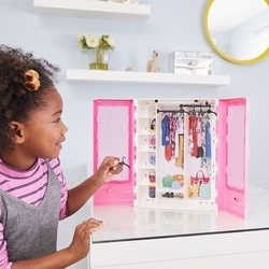 Set de joaca Mattel - Dressing Barbie, roz