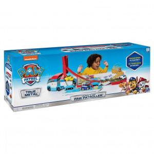 Set de joaca Paw Patrol - Launch'n Haul Paw Patroller, vehicul cu pista de lansare