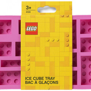 Tava cuburi de gheata LEGO - Roz