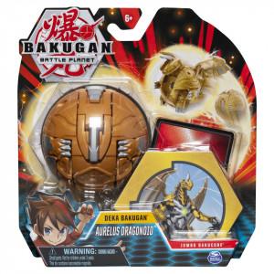 Figurine de acțiune Deka Jumbo Bakugan - Aurelus Dragonoid