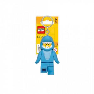 Breloc cu LED LEGO Baiatul Rechin
