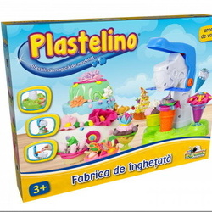 Fabrica de Inghetata - Set de Plastilina
