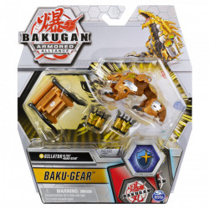 Figurina Bakugan S2 Bila Ultra Gillator Cu Echipament Baku-Gear