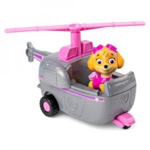 Figurina cu Vehicul Paw Patrol-Skye si Elicopter