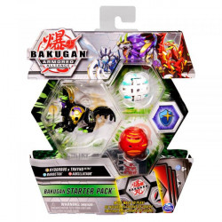 Figurine Bakugan Armored Alliance,Hydorous Trhyno ultra,Barbetra si Auxillataur