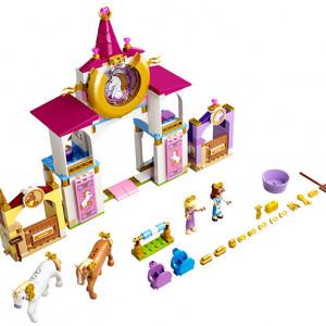 Grajdurile regale ale lui Belle si Rapunzel