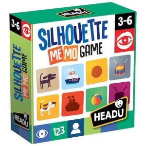 Joc educativ Headu Teacher Tested - Siluete, jocul memoriei