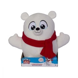 Jucarie de plus interactiva Noriel - Snuggle and Hug - Urs polar
