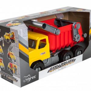 Jucarie Educativa Tigres-Camion 52cm