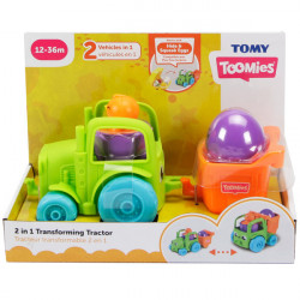 Jucarie Tomy 2in1 Tractorul Transformabil