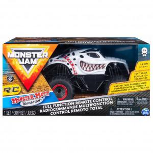 Masinuta Monster Jam RC - Dalmatianul, scara 1:24